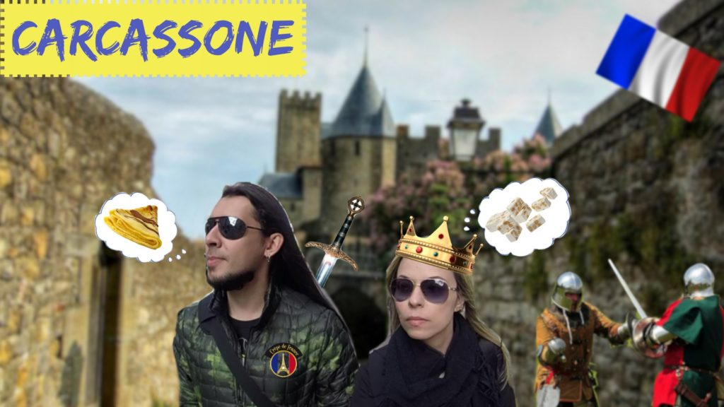 front cover - carcassone
